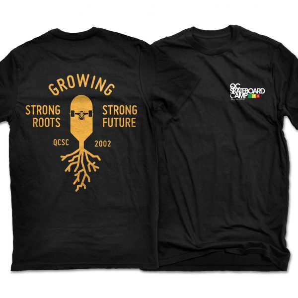 qcskateboardcamp_t_shirt_2018_growing_strong_roots
