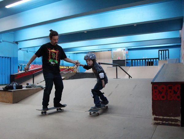 Cours privés de skateboard